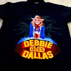 Vintage Dragonfly Debbie Does Dallas Button Down🔥